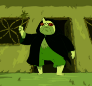 S5e45 grassy wizard disguised