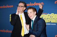 Tom Kenny and Ethan Slater