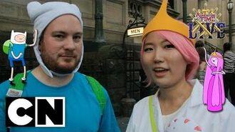 Adventure Time LIVE Vox Pops Melbourne Australia