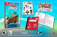 Adventure Time Pirates of the Enchiridion promo listing