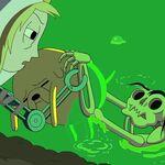 Marceline Dead in goo?
