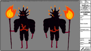 Modelsheet Flame Guard