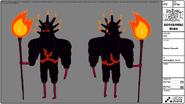 Modelsheet Flame Guard