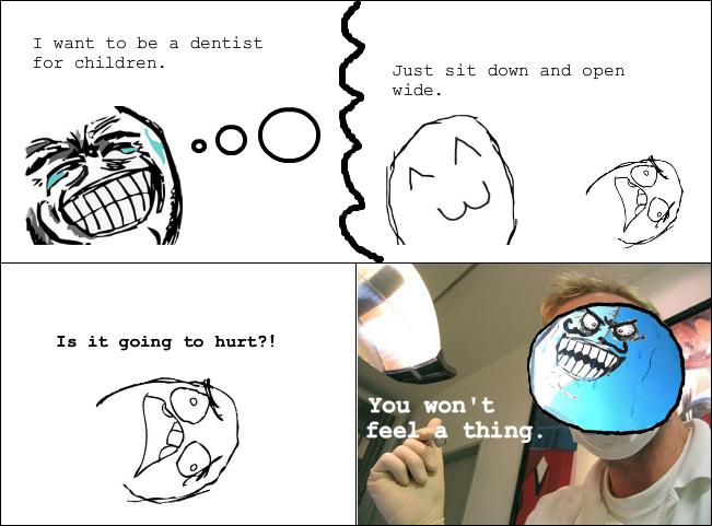 Dentist troll