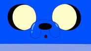 S9e10 Blue Jake closeup