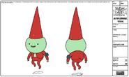 Modelsheet gnome1goodpose