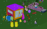 S5e18 Bounce house princess shelter