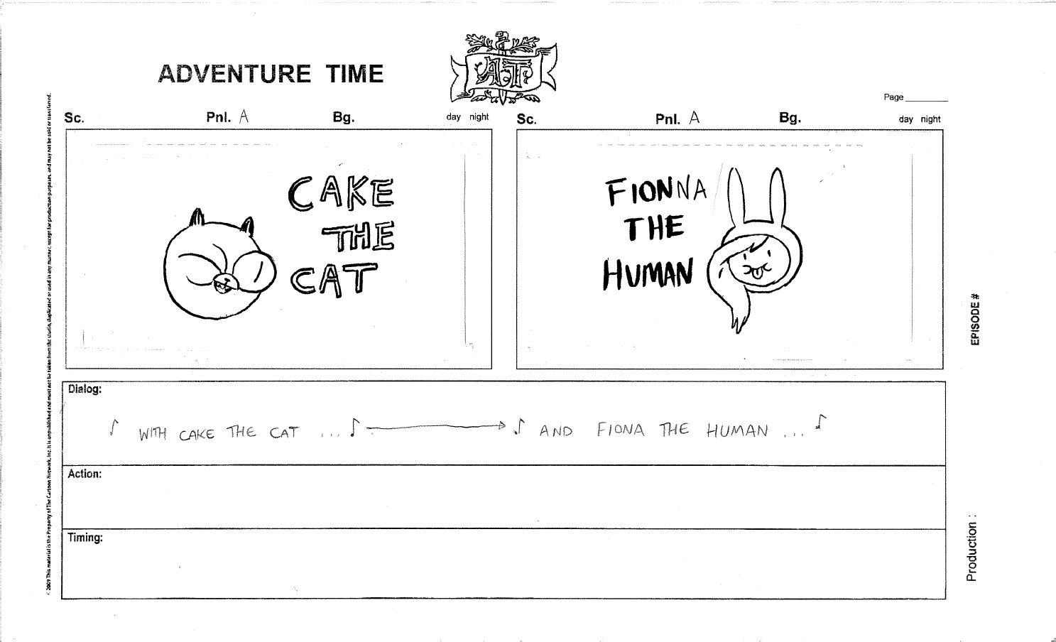 Image Part 1 of Fionna and Cakejpg Adventure Time Wiki FANDOM