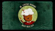 S6e10 In memory of Root Beer Guy