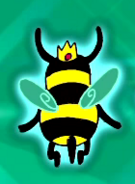 Bee Princess in Ice King's Imagination Zone