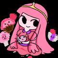 Chibi Princess Bubblegum by StarValerian.png