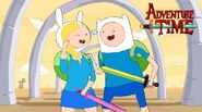 Finn and fionna meet