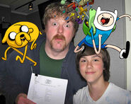 John Dimaggio and Jeremy Shada