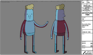 Modelsheet evacuationman no hat