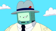 S10e2 BMO in hat close up 2