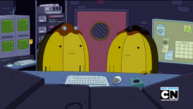 S5e44 Banana Guards in control room