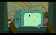 S5e28 BMO looking around
