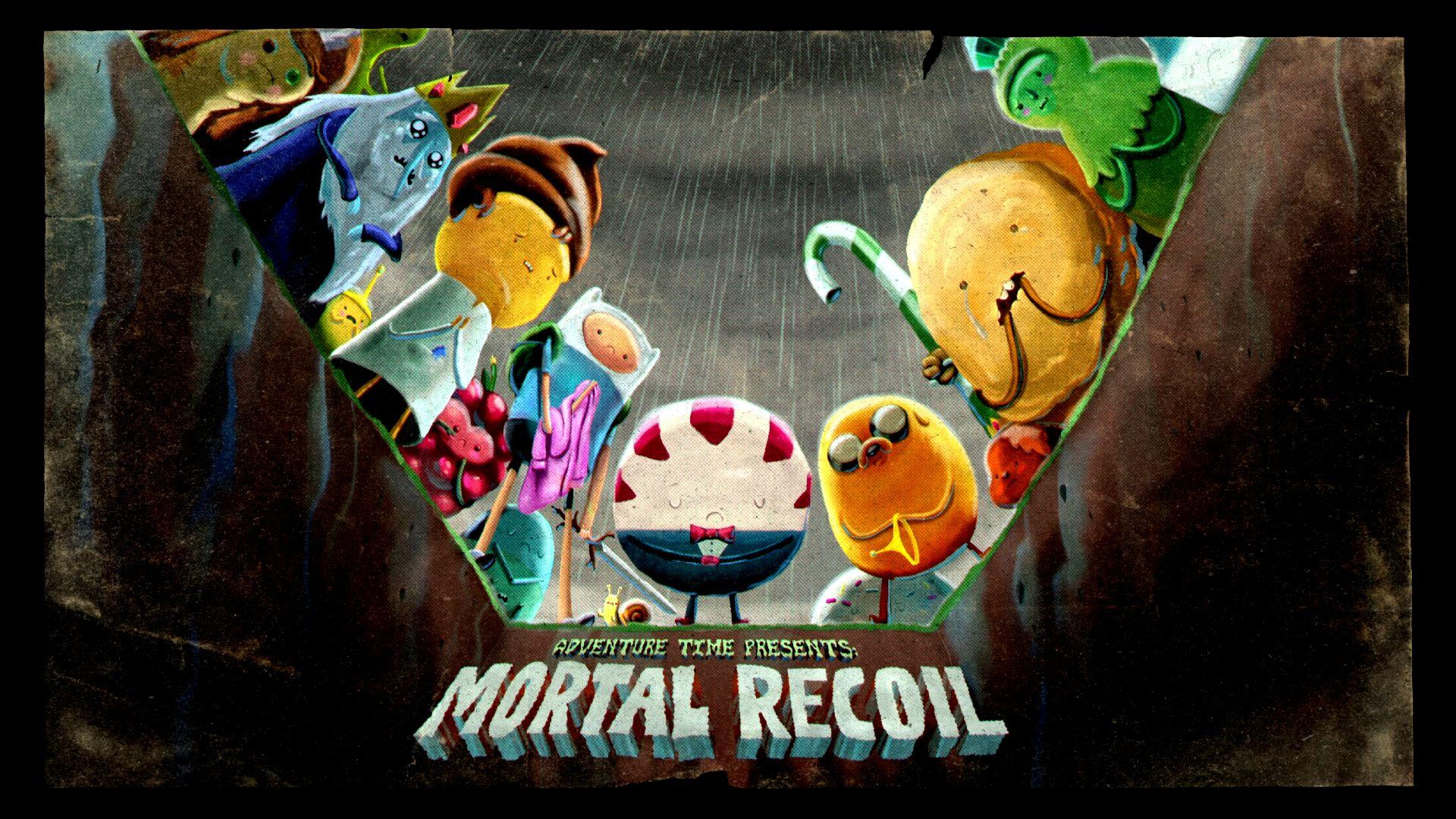 mortal recoil | adventure time wiki | fandom powered by wikia