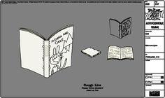 Modelsheet manuscripts