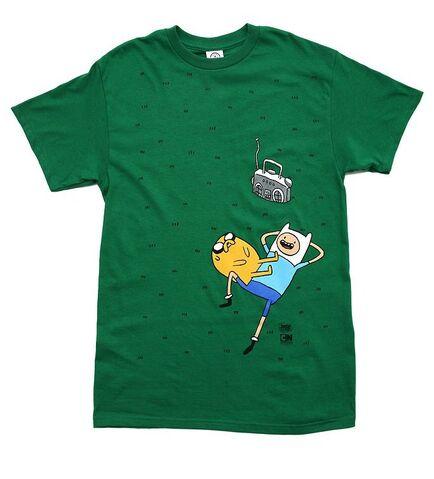 File:Finn Jake Grass Music Shirt.jpg