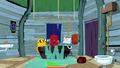 S6e15 Jake, Rattleballs, and Finn in tub.png