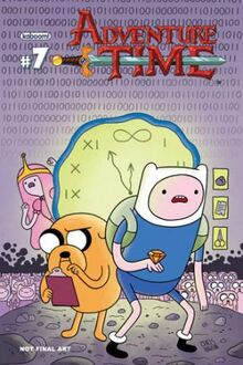 Adventure Time 7 cover A