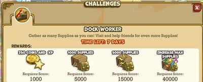 Dock Worker Challenge