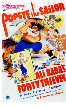 The Powerpuff Girls and Popeye Meet Ali Baba's Forty Thieves