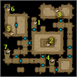 Isle of Prisoners, Tomb maps level 1