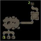 Hunting Lodge, Cells pins