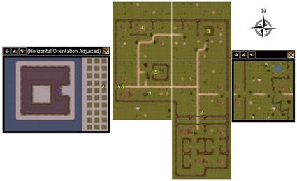 Orc camp mini maps