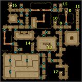 Isle of Prisoners, Tomb maps level 2
