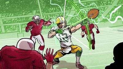 QB Aaron Rodgers Is Basically Green Arrow in This Insane NFL Playoffs Comeback