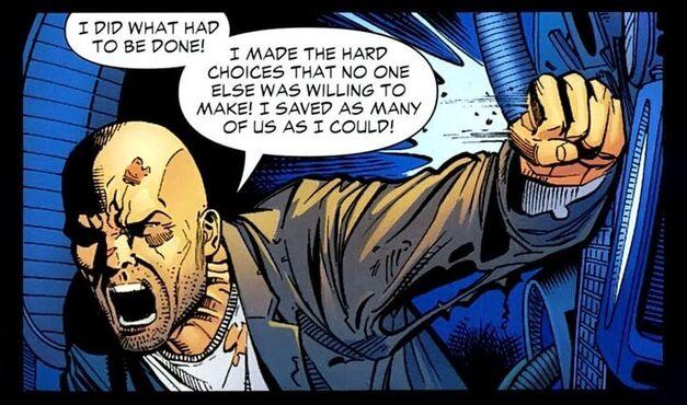 Lex Luthor Salvation Run