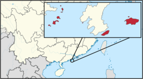 LocationBeiwan