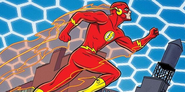 The Flash Speed Force Aura