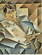 JuanGris.Portrait of Picasso