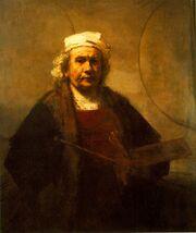 Rembrandt van rijn-self portrait