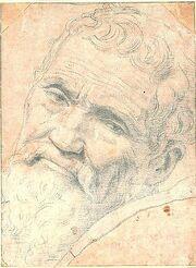 Michelango Portrait by Volterra