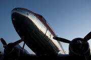 Air Nostalgia DC-3 Parked at Strahan Aerodrome