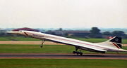 Concorde, Heathrow 1987
