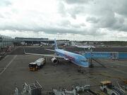 Birmingham Airport - planes - Thomson Airways