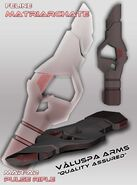 Stormtale creations aesir chronicles weapons feline pulse rifle