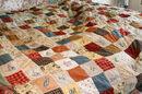 Cottagecore quilt background