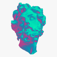 107-1079853 transparent-vaporwave-png-vaporwave-statue-aesthetic-png-download