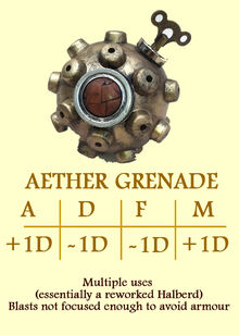 Aether grenade