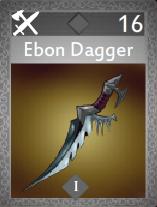 Ebon Dagger