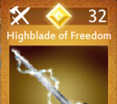 Highblade of Freedom