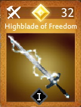Highblade of Freedom