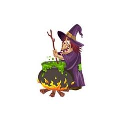 Witch and Cauldron 300